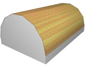 Tonnendach-OpenGL